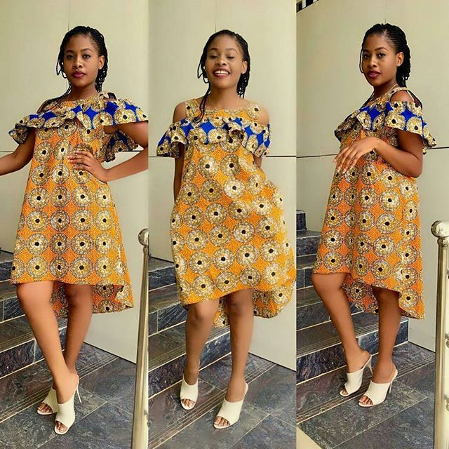 Latest Ankara Short Gowns Style To Rock Your Weekend