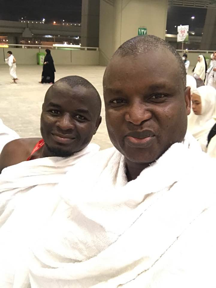 Photo Of Famous Police Officer, Abba Kyari At The Venue Of Stoning The Devil In Mecca