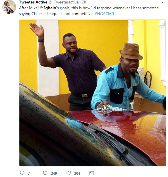 Funny Twitter Memes As Supper Eagles Humiliate Cameroon 4 ... World Cup Funny Memes