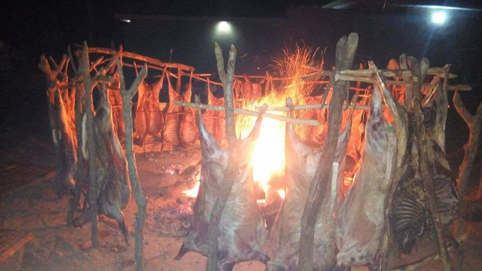 How Sallah Meat Was Prepared In Sokoto At Night (Photos)