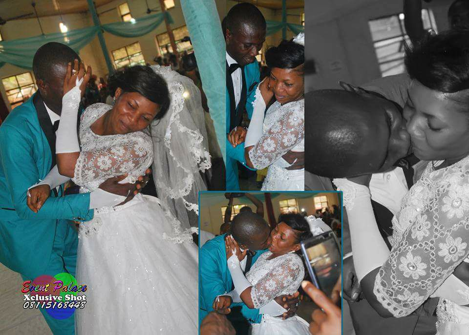 Bride Refuses To Kiss Groom At The Altar In Port Harcourt. Photo
