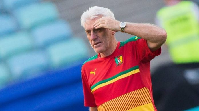Hugo Broos, Cameroon Coach Resigns After Humiliating Loss To Eagles