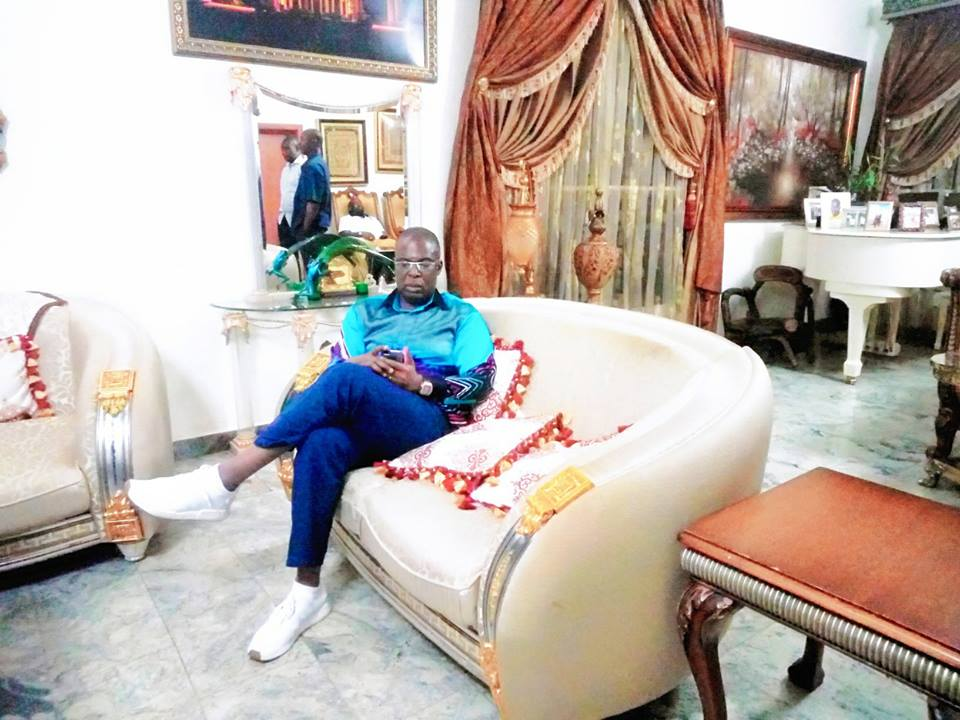 Timipre Sylva Chills In His Abuja Mansion After EFCC Released His Seized Houses (Pic)