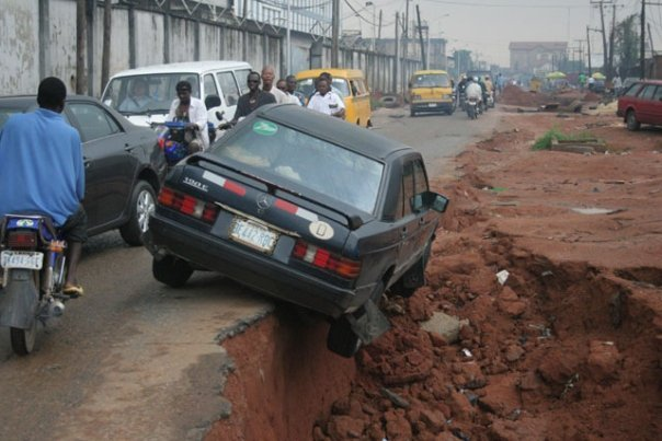 What Does This Photo Tell You About Nigerian Roads? - Politics - Nigeria