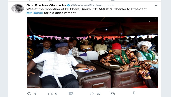 AMCON Blocks Sale Of Shares In Niger Insurance Linked To Governor Okorocha