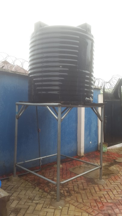 Used Scaffolding For Sale >> 3,000 Litres Water Tank With 7ft Iron Stand For Sale ...