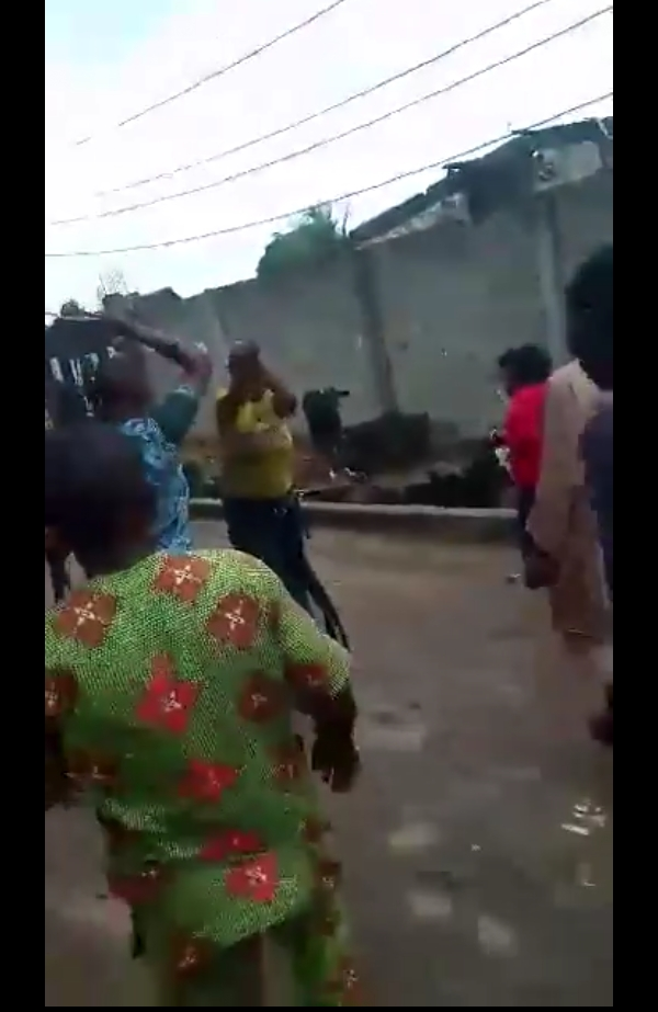 Man Trying To Steal Panties From A FUTA Students Apartment, Caught (video & photos)