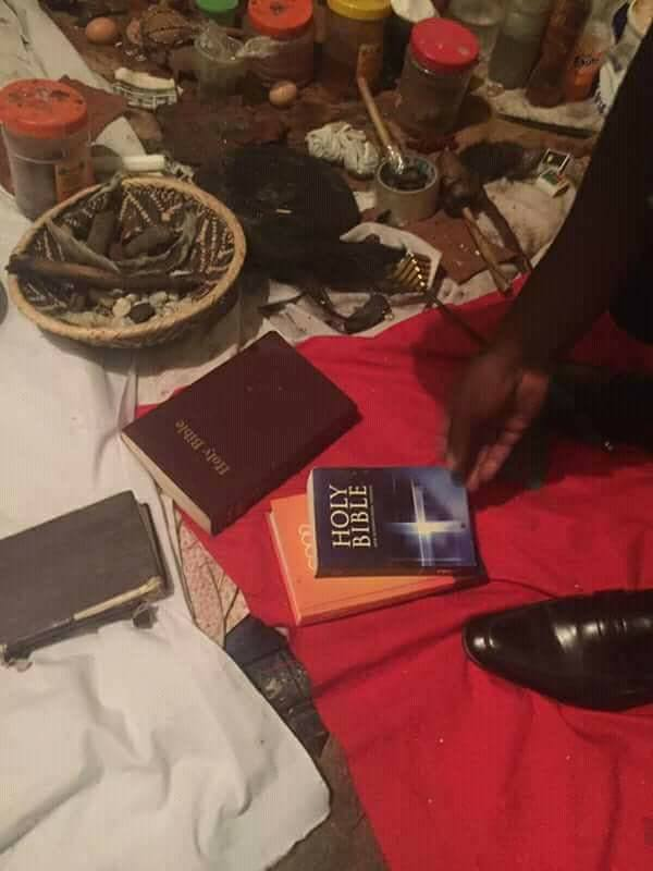 Charms, Bibles, Recovered From Zambian Fraudster Who Tried To Dupe Businessman
