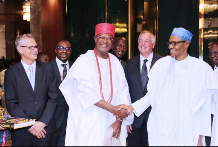 President Buhari Meets Ooni, Sultan, Other Monarchs In Aso