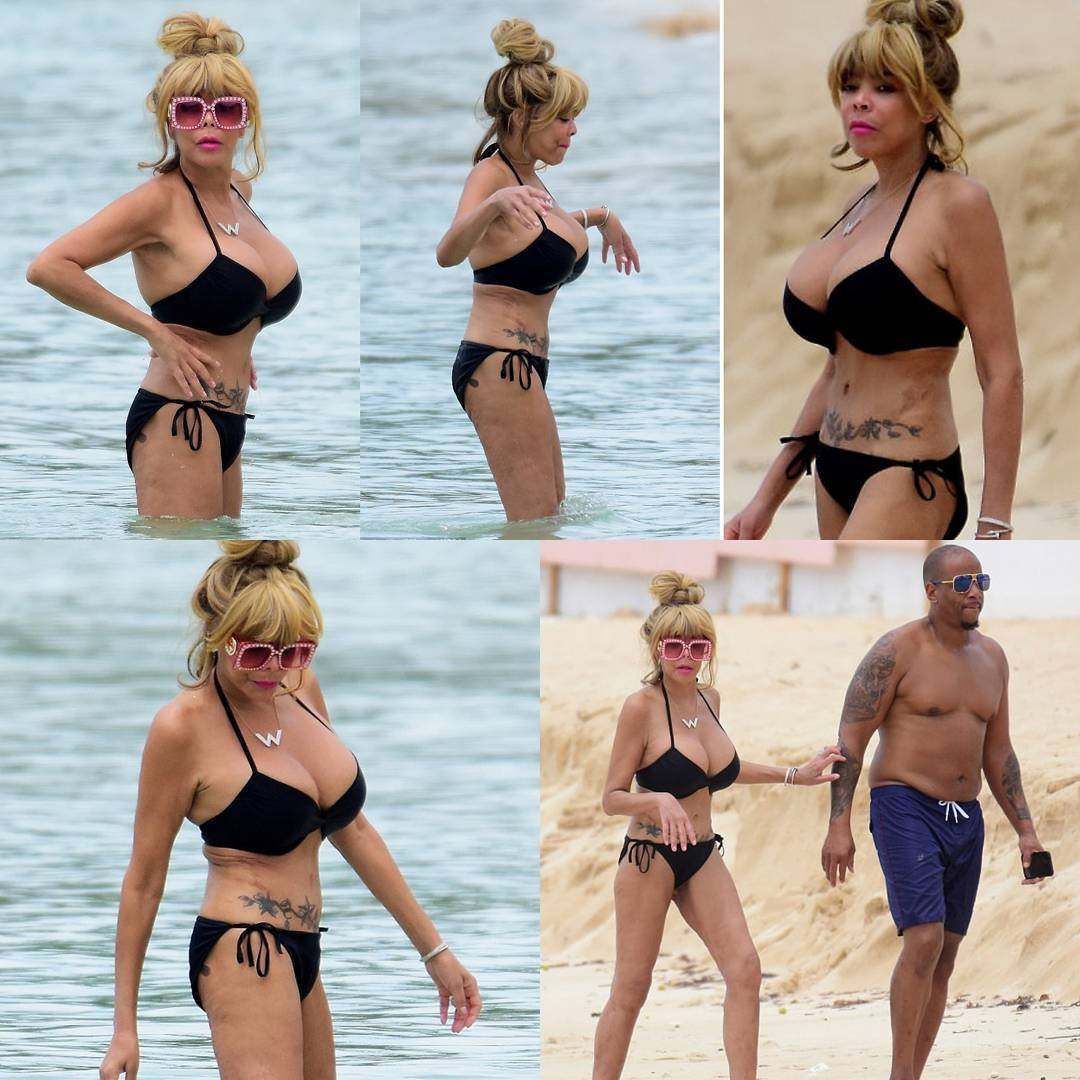 Wendy Williams Shares Sexy Photos Of Her Surgical Enhanced Body