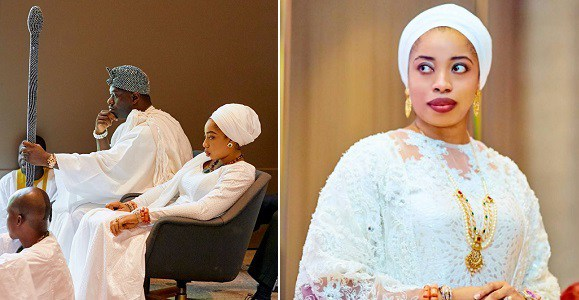 """Olori Wuraola Is Free Now"" - Ooni Of Ife Says As He Accepts Bride Price Refund"