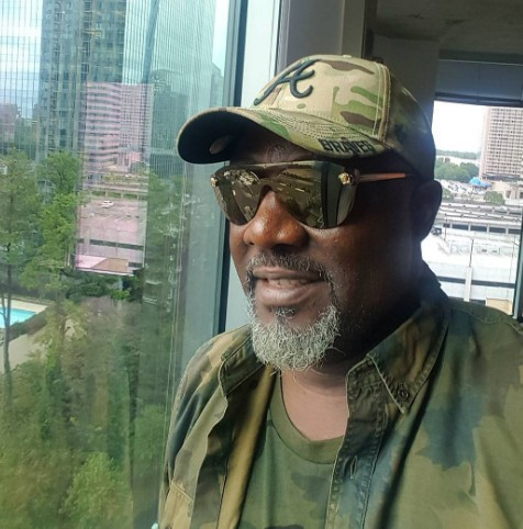 """I Ready For All Dem Bad People"" - Dino Melaye Says As He Steps Out In Camouflage"
