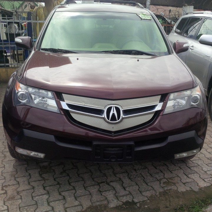 2008 Acura Mdx Tokunbo For Sale Super Clean And Fresh