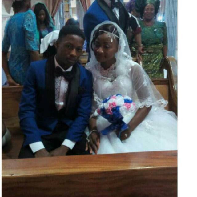 17-Year-Old Girl Weds 18-Year-Old Boy In Abia (Photos)
