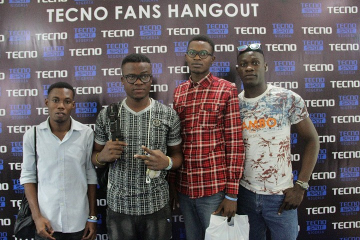 Tecno Mobile Hosts 50 Fans To A Party (Photos)
