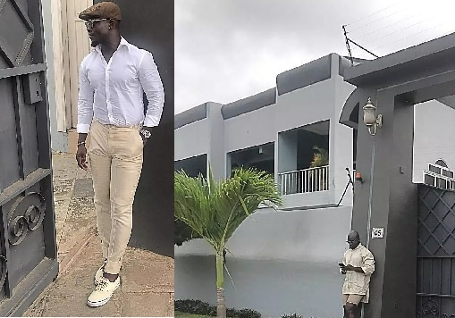 Ghanaian Retired Footballer, Stephen Appiah, Flaunts His Massive Mansion (Photos)