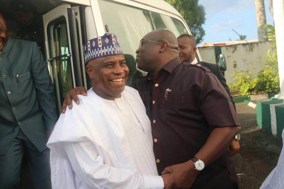 Northern Governors Arrive Abia State After IPOB Clash With Military (Photos)