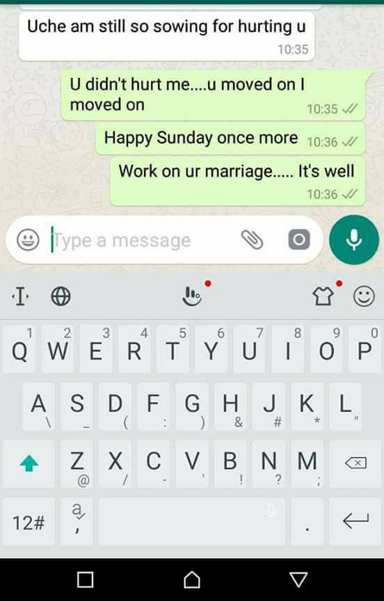 My ex wife is dating a married man