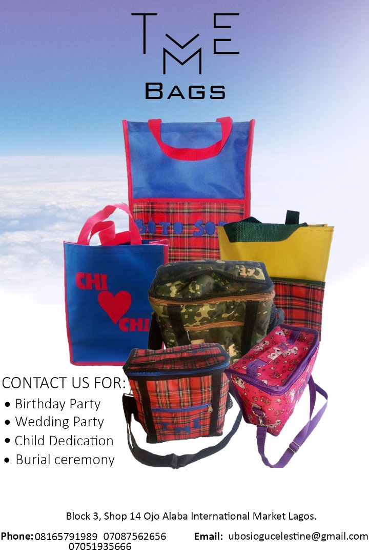 As we are entering the season of wedding, lots of us will start thinking of  the souvenir to share, think no more. contact us   07051935666 (call  whatsapp). 7af0952432