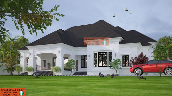 Architectural design of 5 bedroom bungalow nairaland for Amazing bungalow designs