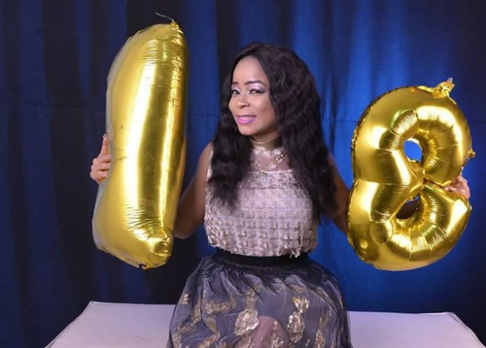 This Photos Of A Lady Celebrating Her 18th Birthday Got People Talking