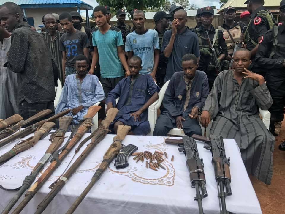 Kidnappers Terrorizing Abuja-Kaduna Express Way Busted,Weapons Recovered