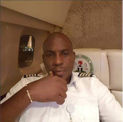 President Buhari's Official Pilot, Chinyelu Chizoba Ndubuisi, Shares Lovely Photos