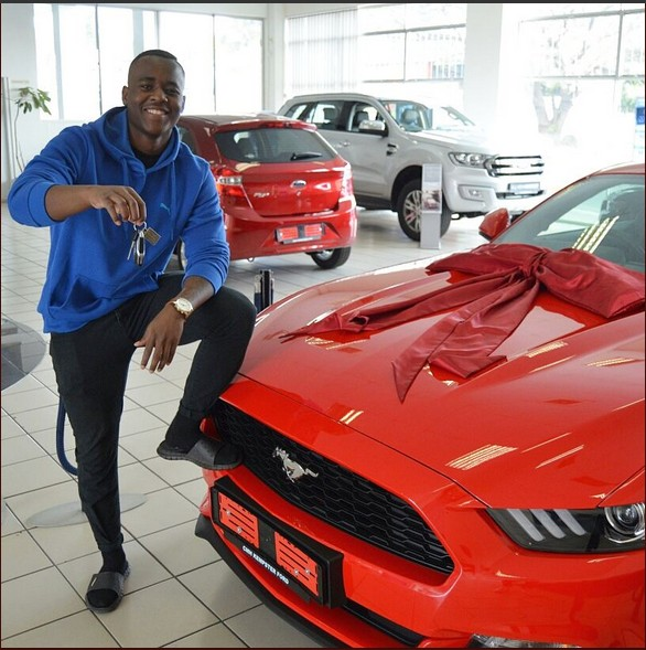 Mother Buys Ford Mustang For Her Son For His 21st Birthday (Photos)