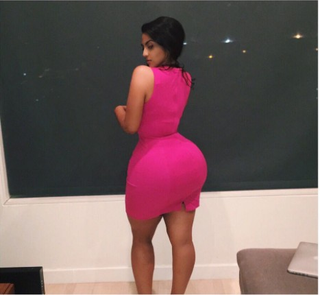 OH BOY!!! :  MEET THE CURVY & BEAUTIFUL WOMAN REFERRED TO AS THE INDIAN KIM KARDASHIAN