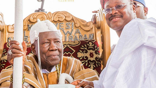 Former Oyo SSG escapes death as gunmen invade Olubadan's palace