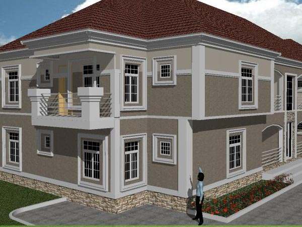 New architectural design needed private residence for Nigerian architectural designs