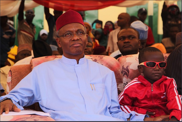 Governor El-Rufai Weeps On Meeting Boy Whose Eyes Were Removed By Ritualists