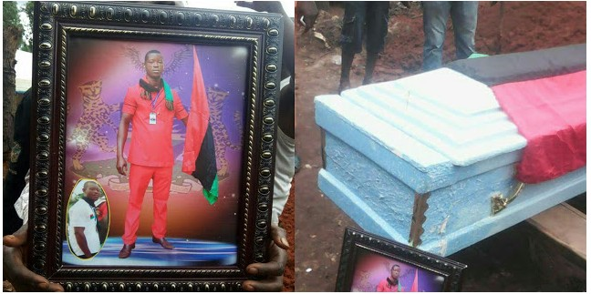 Burial Of IPOB Member Killed In Abia During Military Invasion (Photos)
