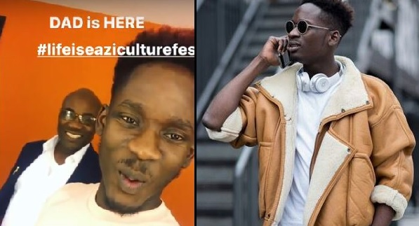 Mr Eazi Shows Off His Father For The First Time (Photo/ Video)