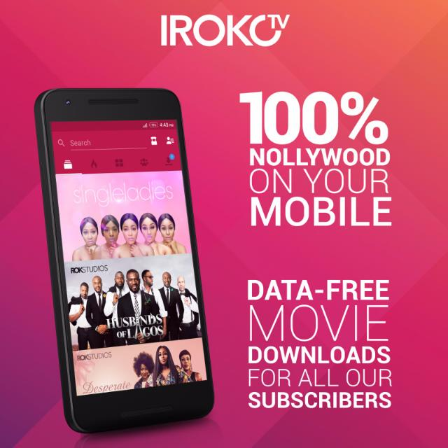 Subscribe To Iroko Tv On Your Mobile Phone And Enjoy Data