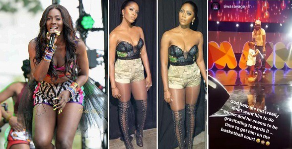 """I Don't Want Him To Do Music, But He Keeps Moving Towards It"""" - Tiwa Savage"""