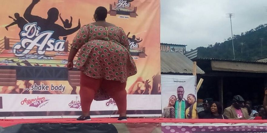 Check Out Photos From Plus-Sized Audition In Ghana