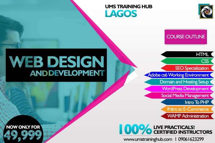 Attend Web Design And Development Training In Lagos 100 Practical Training Business Nigeria