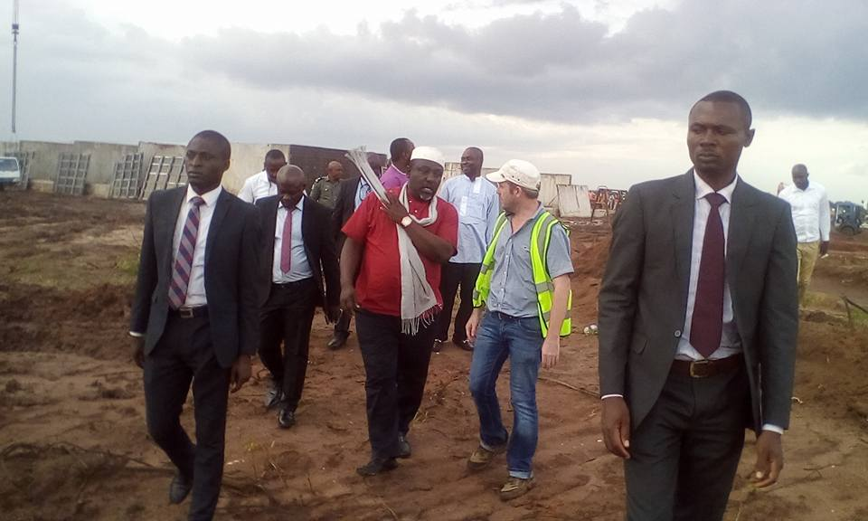 Governor Okorocha Begins Construction Of New Prison Yard In Imo State (Photos)