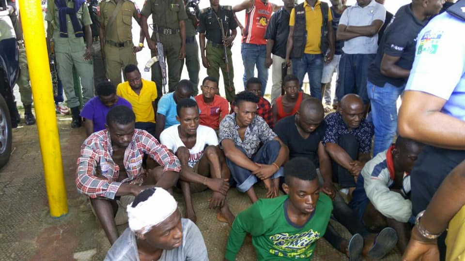 Dismissed Policeman arrested with Bullet wounds, Stolen Range Rover (PHOTOS)