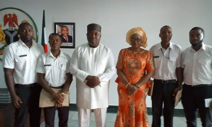 Governor Ifeanyi Ugwuanyi Trains 5 To Be Helicopter Pilots (Photos)