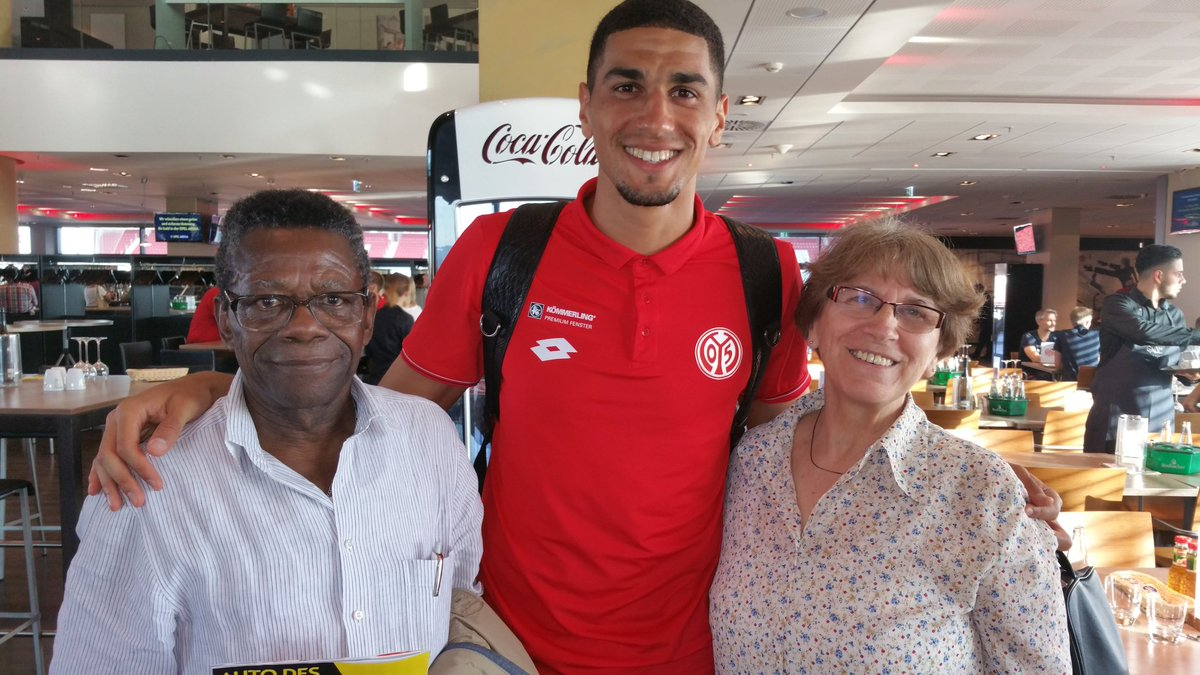 Leon Balogun Shows Off His Parents To Celebrate 2018 World Cup Qualification