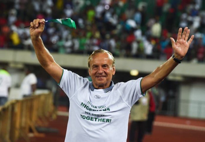 Super Eagles Coach; Gernot Rohr Earns Two-Year Contract Extension With Super Eagles