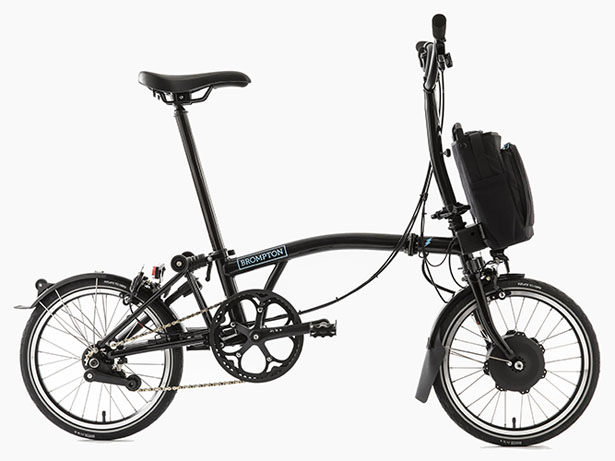 This Bicycle Can Be Folded, Charged And Be Used To Charge Other Devices