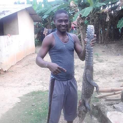 """""""In Niger Delta, Crocodile Will Never Smile, This One Is Ready For Pepper Soup"""" (Pic)"""