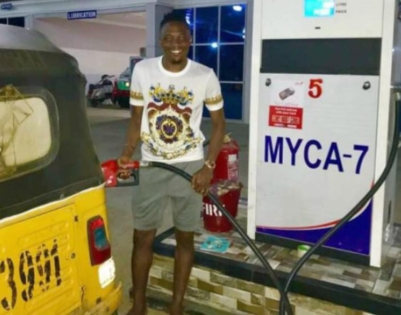 Ahmed Musa Opens Filling Station In Kano (photo)
