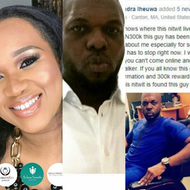 Nigerian Lady Outs A Cyberbully, Offers N300,000 To Anyone Who Knows Him (pics)