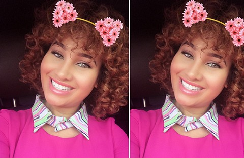 Actress Caroline Danjuma Posts First Ever Photo Since Losing Her Boyfriend, Tagbo