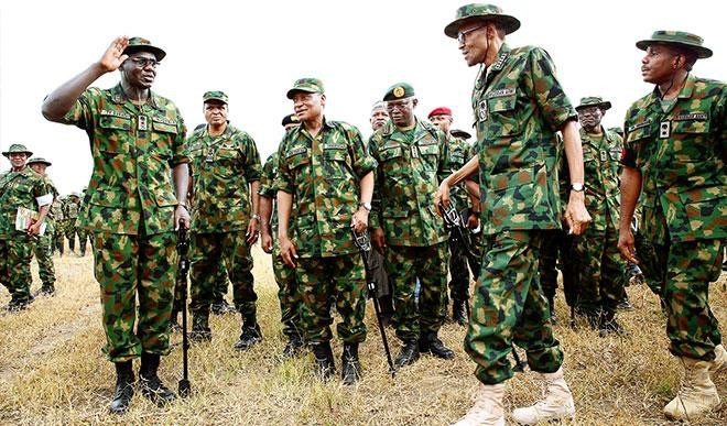 See Complete List Of Nigerian Army Rank And Salary, You Will