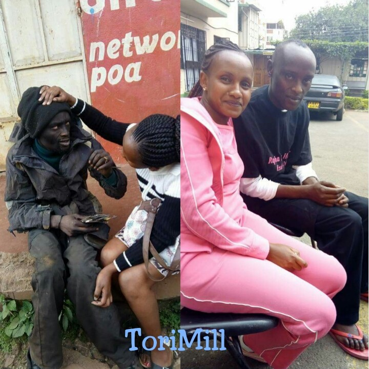 Lady Shares Before & After Photos Of Her Classmate Who Went 'mentally Deranged'